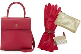 Charlotte Olympia Bogart Leather Top Handle Bag