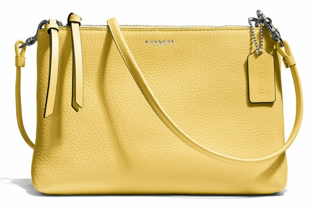 Coach Bleecker Triple Zip Crossbody