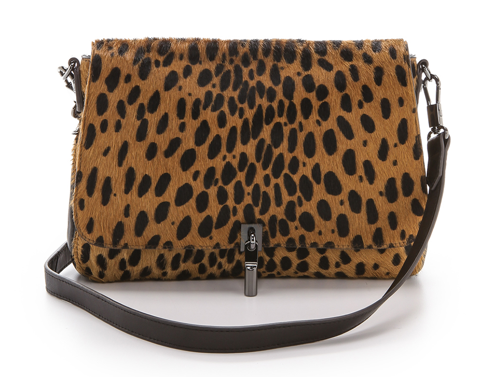 Elizabeth and James Cynnie Mini Haircalf Bag