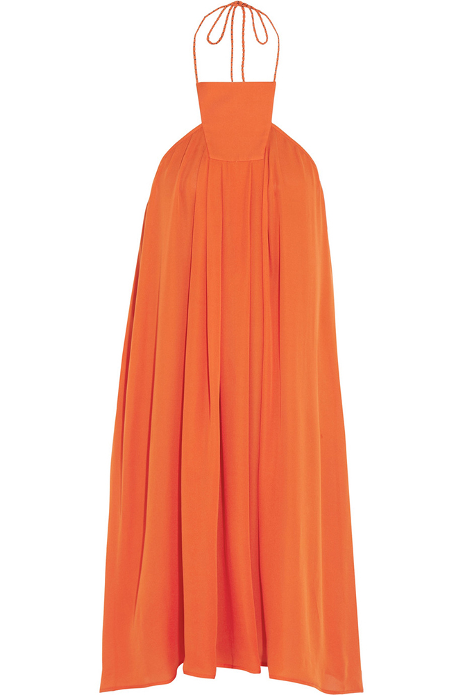 Eres Maracaibo Georgette Halterneck Dress