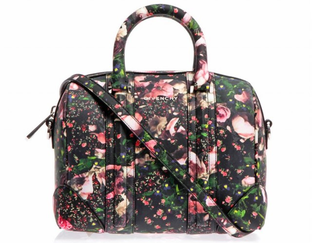 Givenchy Lucrezia Mini Rose Camouflage Tote