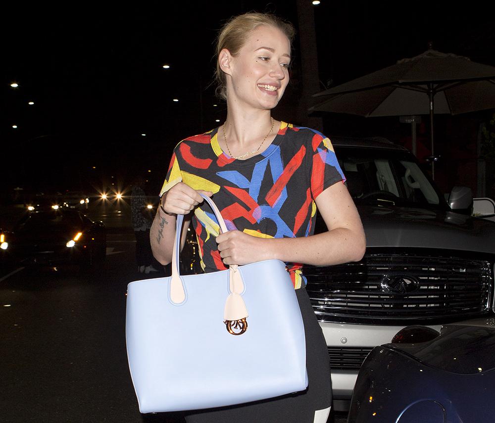 Iggy Azalea Dior Addict Tote