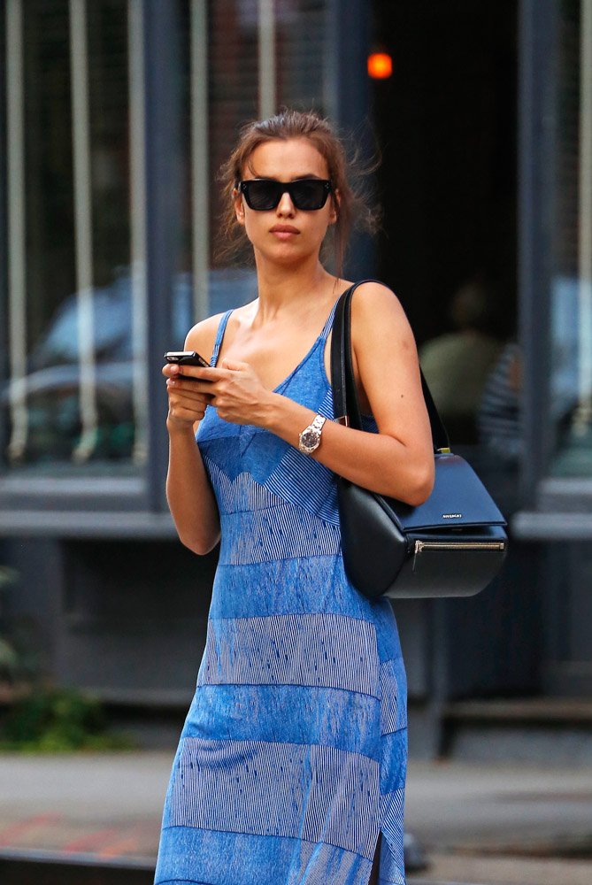 Irina Shayk Givenchy Pandora Box Bag-3