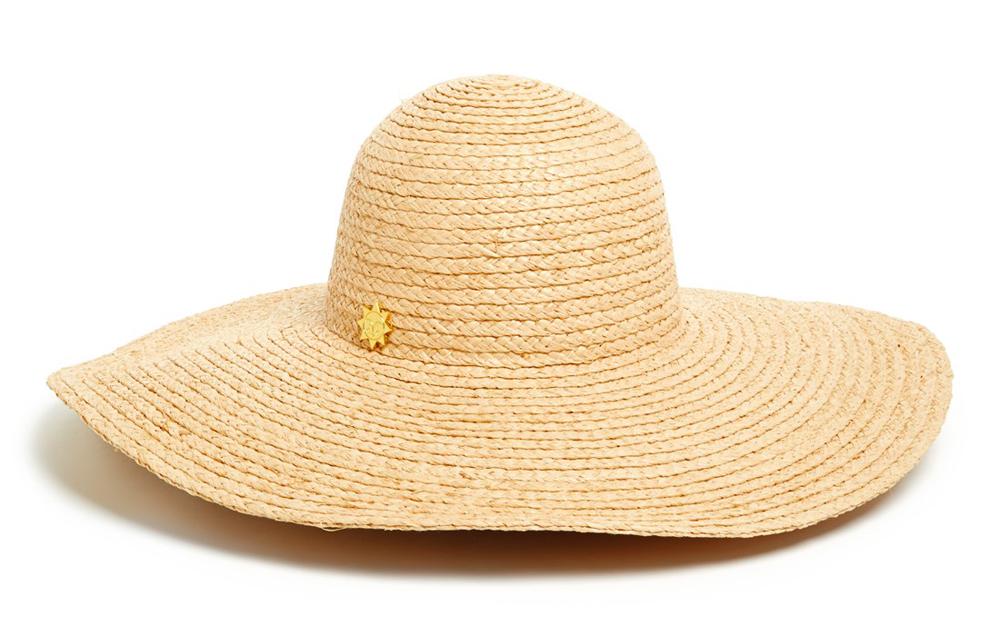 Jonathan Adler Colorblock Stripe Floppy Hat