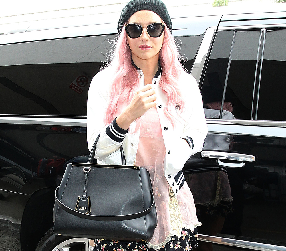 Kesha Fendi 2Jours Bag