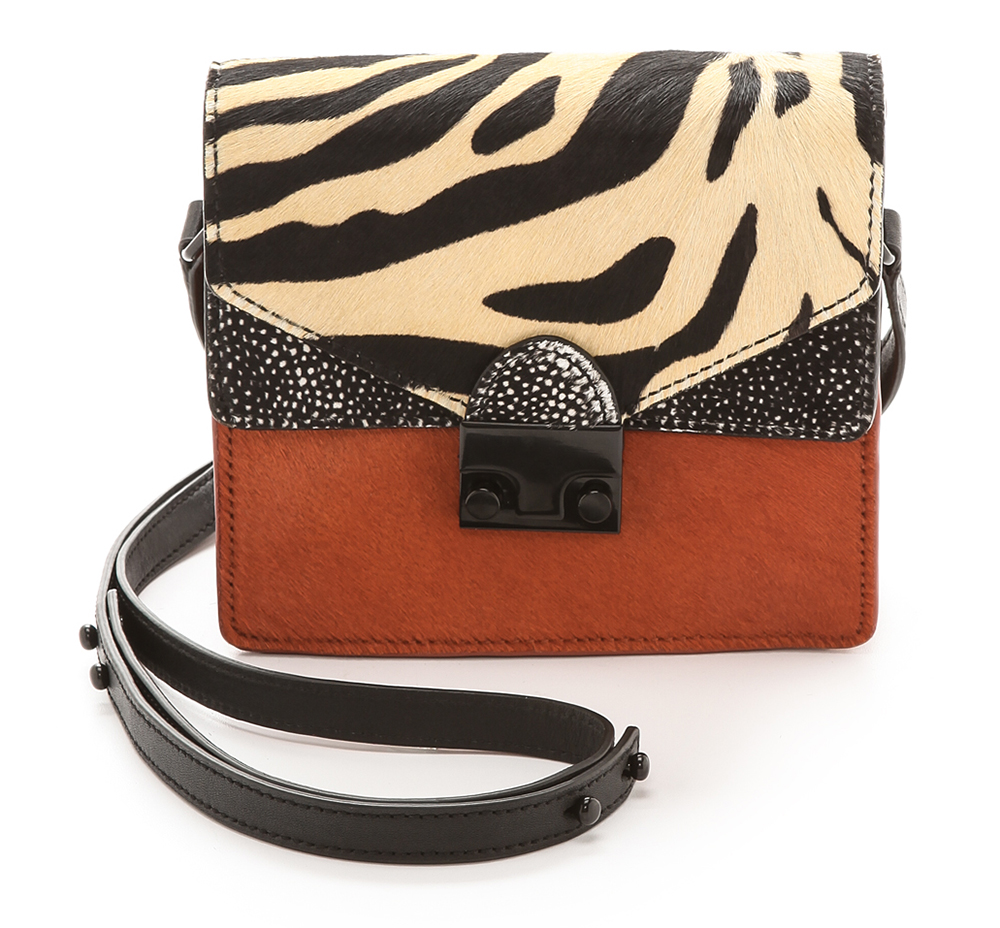 Loeffler Randall Mini Haircalf Agenda bag