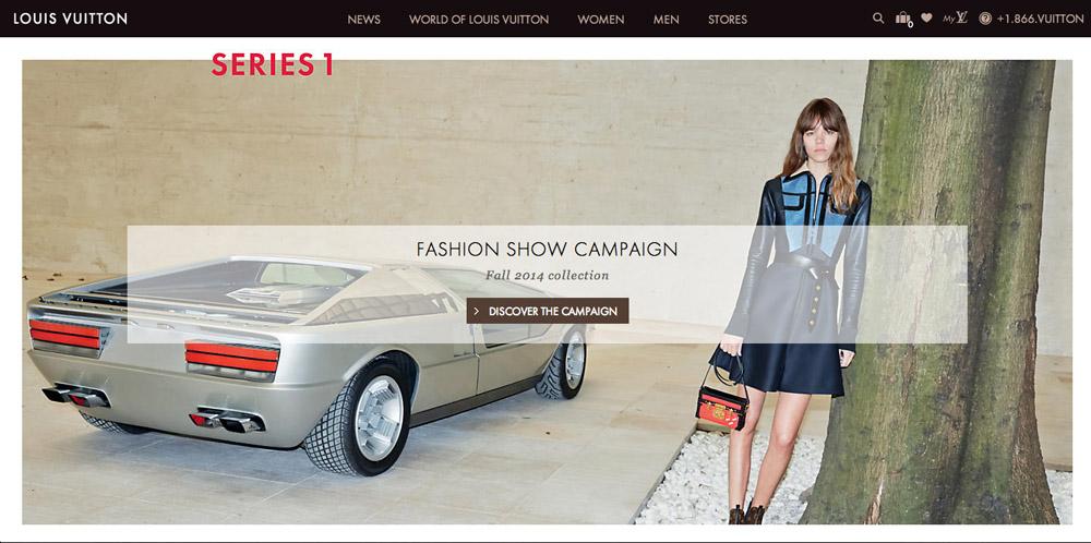 Louis Vuitton New Website 1
