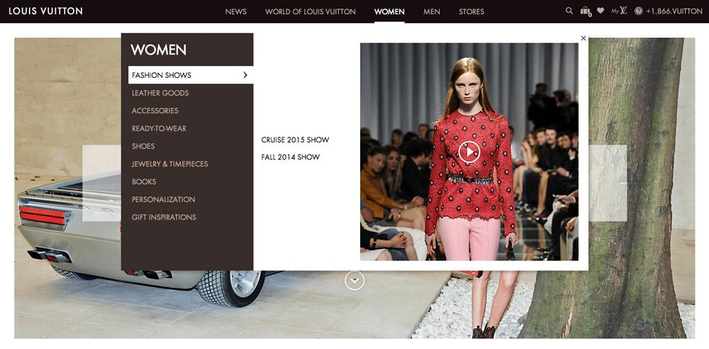 Louis Vuitton New Website 2