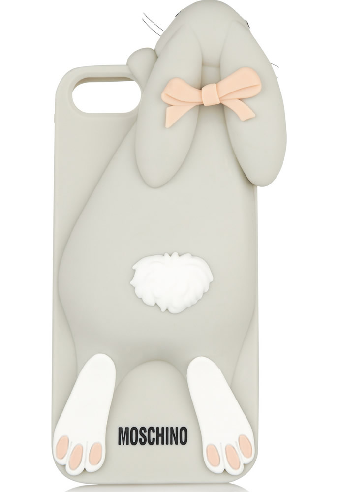 MOSCHINO Violetta rabbit iPhone 5 cover