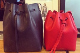 Here's How the Mansur Gavriel Mini Bucket Compares to the Original