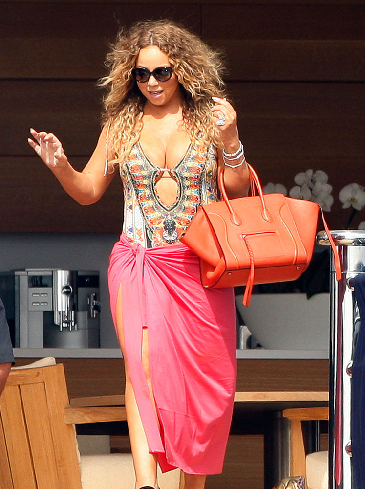 Mariah-Carey-Celine-Phantom-Luggage-Tote