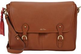 Man Bag Monday: Mark Cross Two-Pocket Messenger