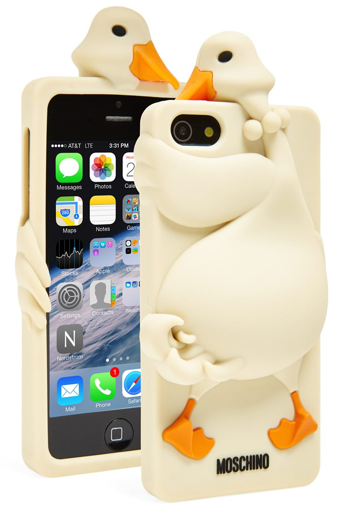 Moschino Goose 3D Rubber iPhone 5 Case