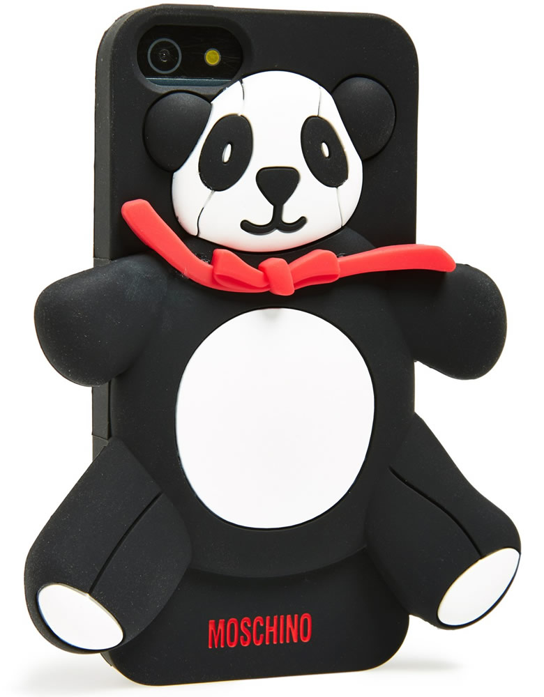 Moschino Panda Bear 3D Rubber iPhone 5 Case