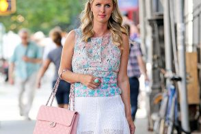 Nicky Hilton Knows You're Looking at Her Chanel Bag