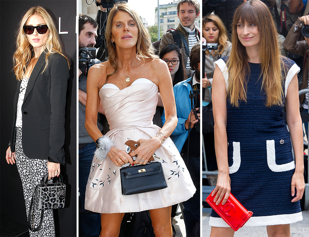 Paris Couture Week Fall 2014 Celebrity Handbags