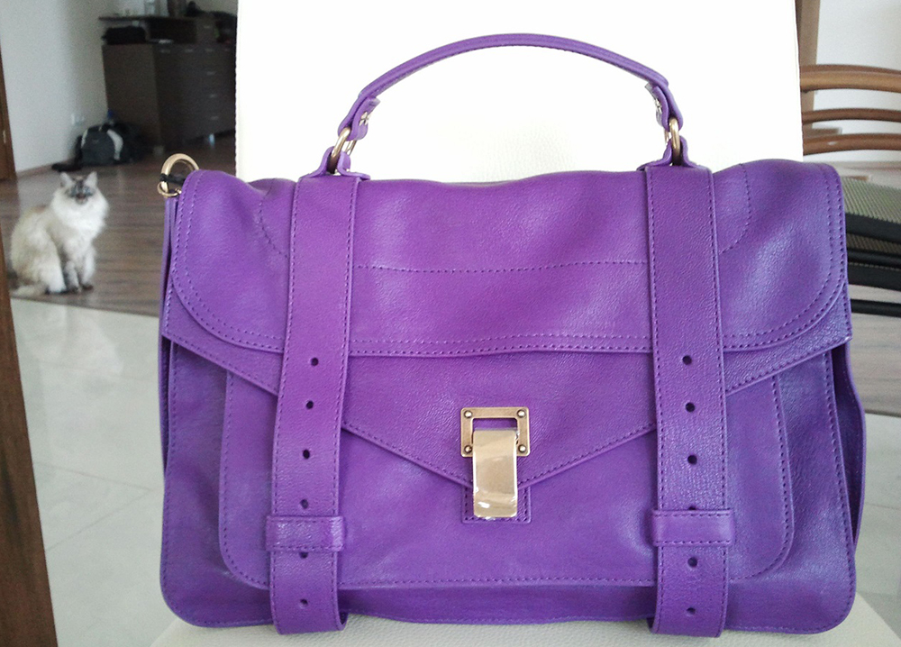 Proenza Schouler PS1 Purple Bag