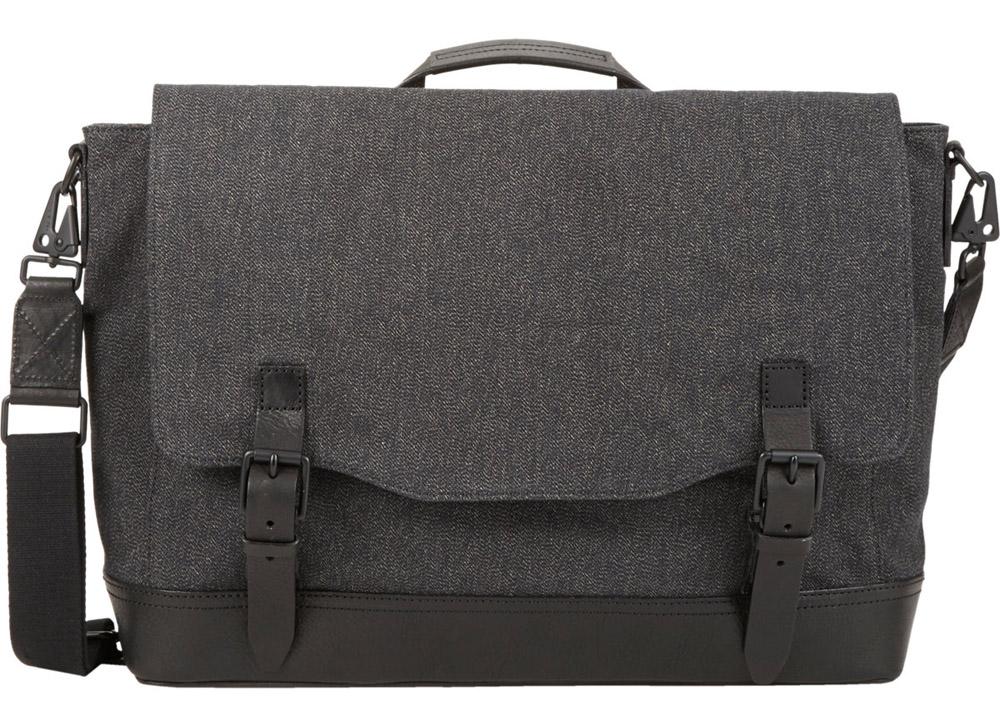 Man Bag Monday: Rag & Bone Canvas Herringbone Messenger Bag ...