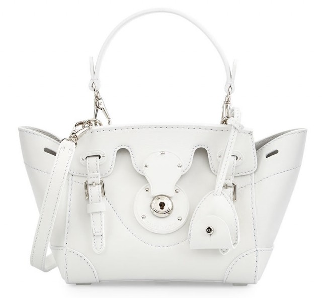 Ralph Lauren Soft Ricky 18 Crossbody Bag