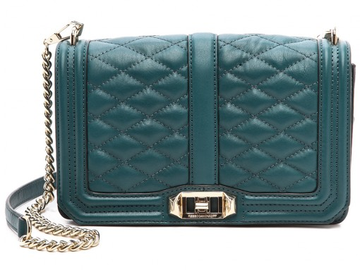 Rebecca Minkoff Love Shoulder Bag Green