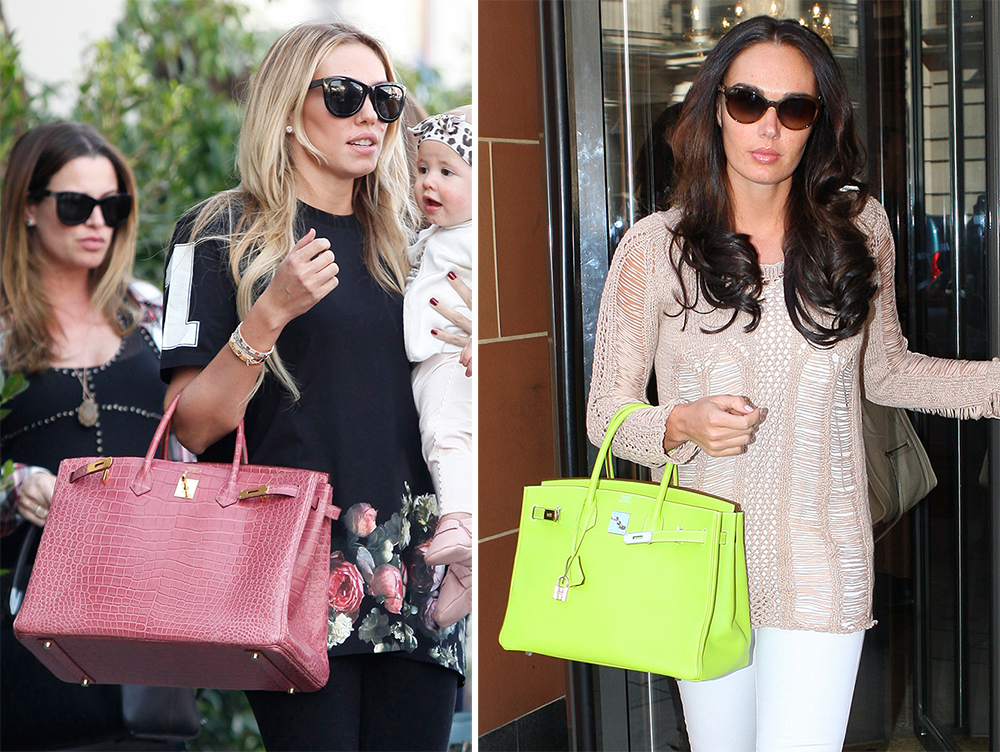 The Many Bags of Petra and Tamara Ecclestone
