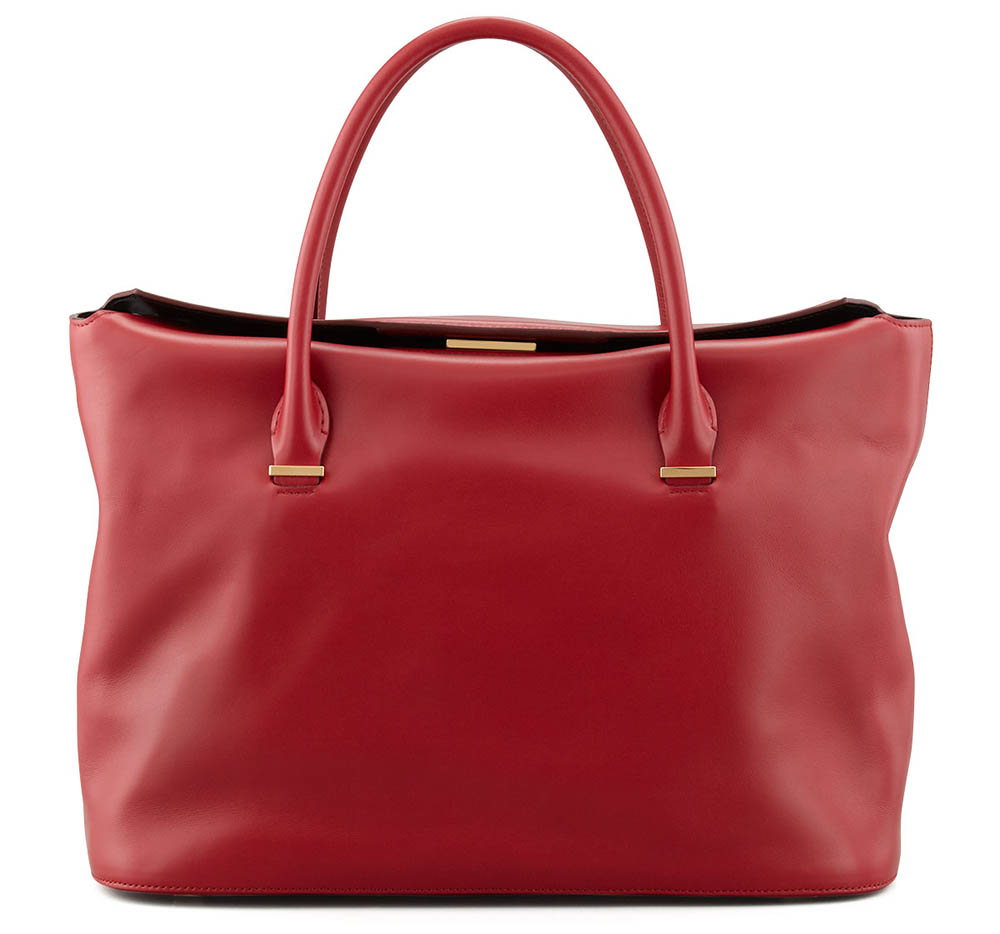 The Row Carryall Leather Tote