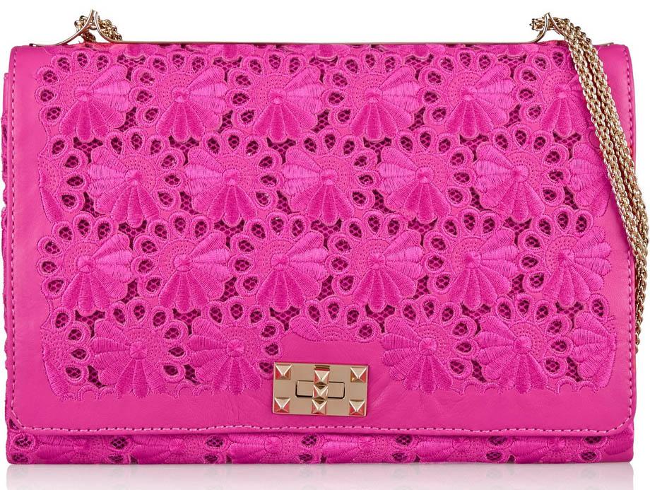 Valentino Lace Shoulder Bag
