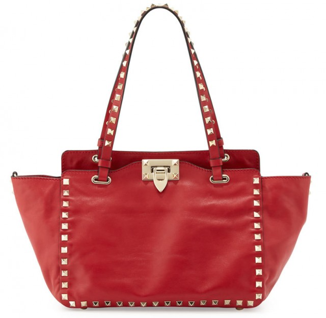 Valentino Rockstud Mini Tote Bag