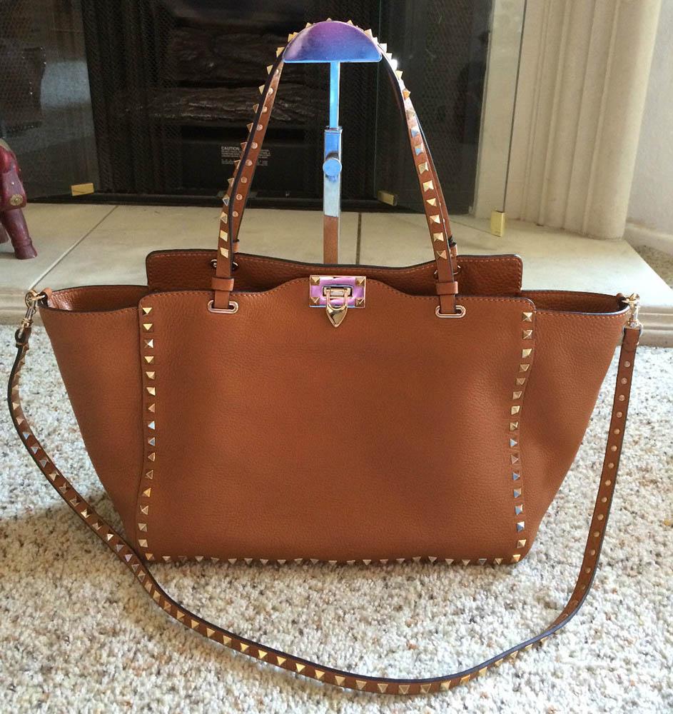Valentino Rockstud Trapeze Bag