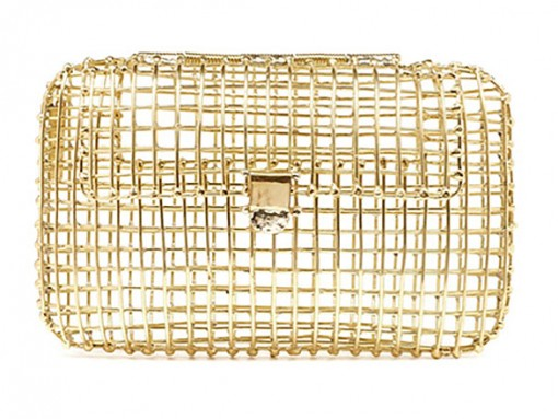 Anndra Neen Solid Gold Clutch