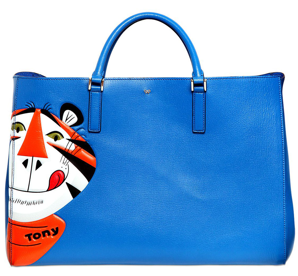 Anya Hindmarch Ebury Maxi Frosties Tote