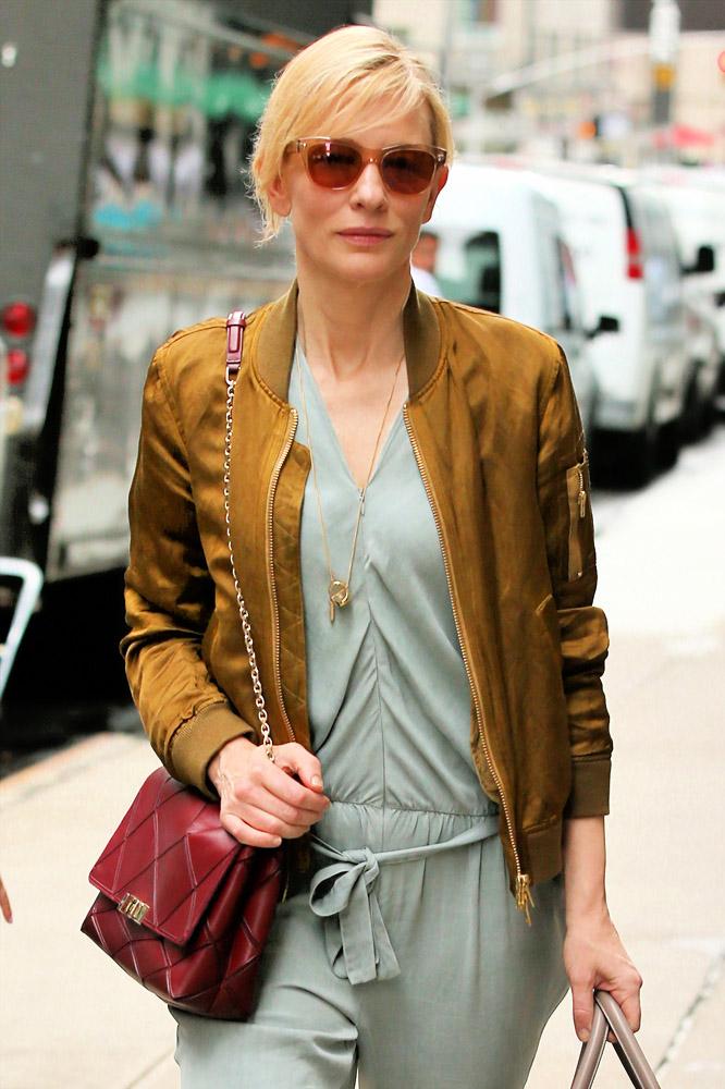 Cate Blanchett Roger Vivier Prismick Shoulder Bag Givenchy Lucrezia Satchel 1
