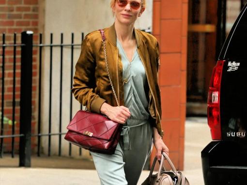 Cate Blanchett Roger Vivier Prismick Shoulder Bag Givenchy Lucrezia Satchel