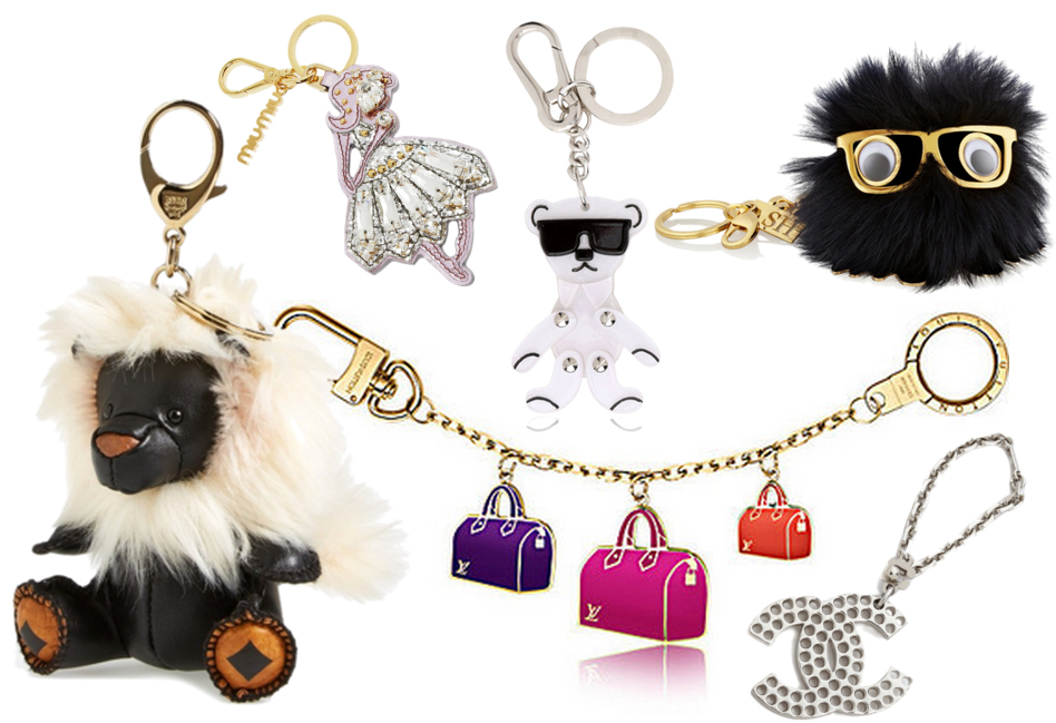 Designer Bag Charms