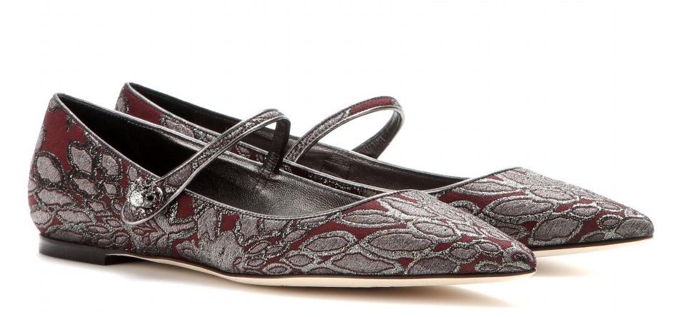 Dolce & Gabbana Bellucci Brocade Flats