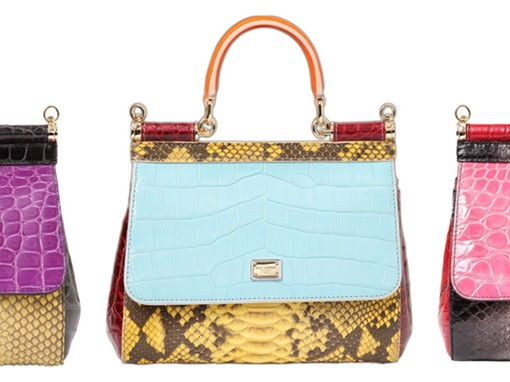 Dolce & Gabbana Exotic Sicily Bags