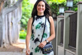 Emmy Rossum Looks Totally Adorable with an A.L.C. Bag