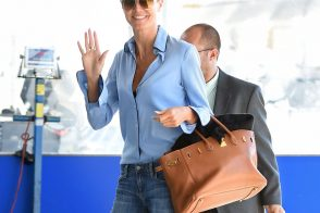 Heidi Klum and Her Birkin Write the Book on Chic Air Travel