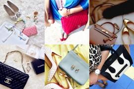Instagram Handbag Celebrity: @mwanwan