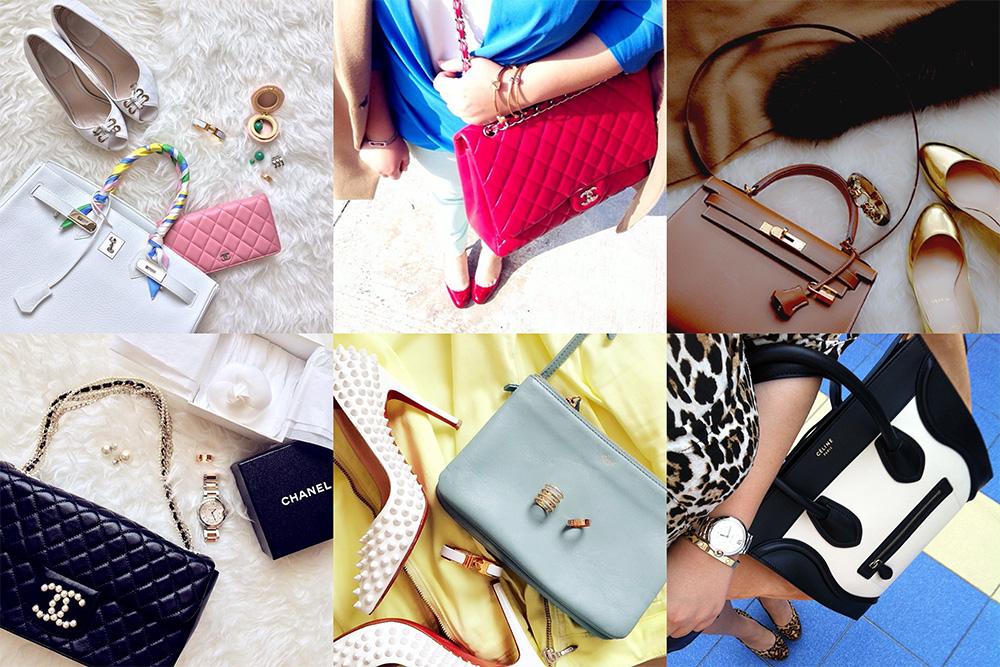 Instagram Handbag Celebrity mwanwan