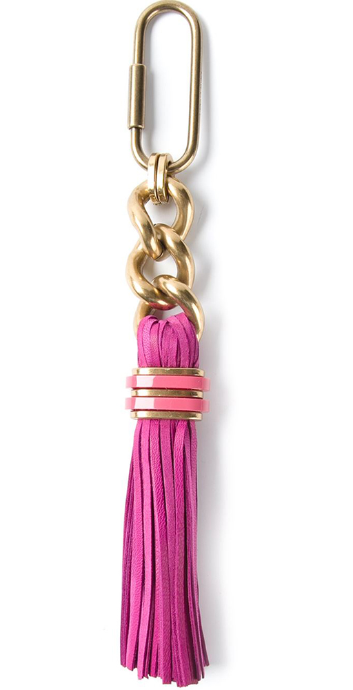 Lanvin Tassel Key Ring