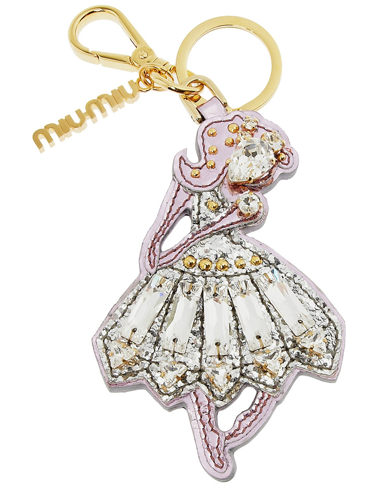 Miu Miu Ballerina Key Ring