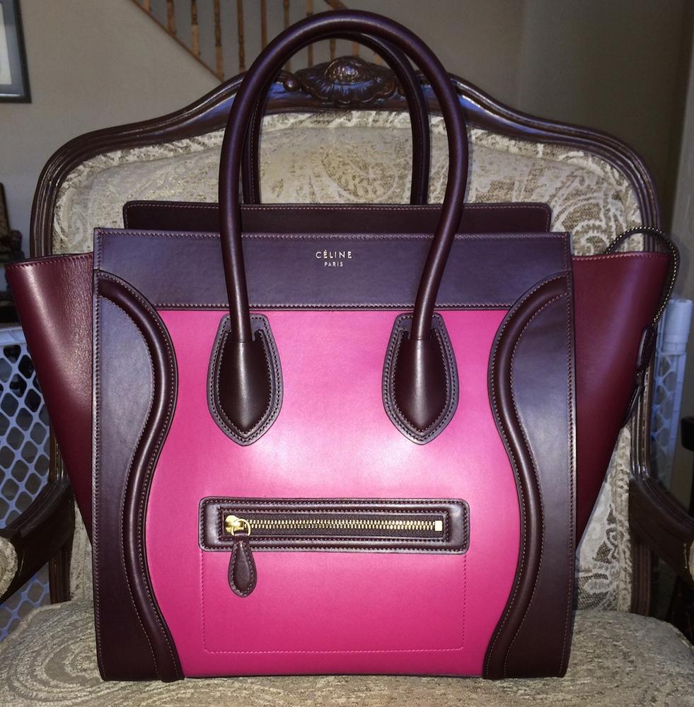 Multicolor Celine Luggage Tote
