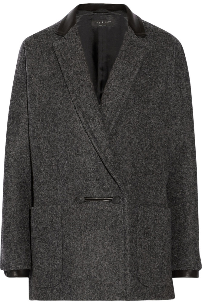 Rag and Bone Primrose Wool Blend Coat