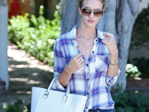 Rosie Huntington-Whiteley Victoria Beckham Quincy Tote