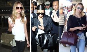 The Many Bags of Celebrities at LAX