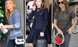 The Many Bags of Chloe Grace Moretz