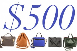 5 Under 500 New Fall Bags