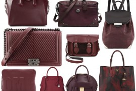 So Nice We Had To Cover It Twice: 15 More of the Best Burgundy Bags for Fall
