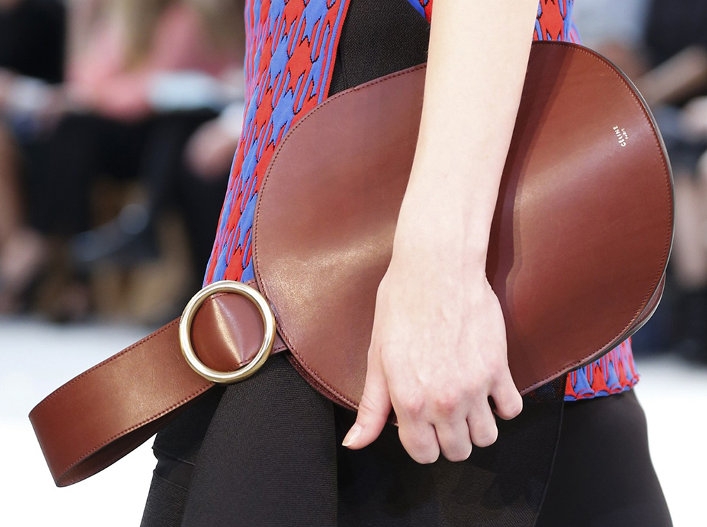 celine leather bags - C��line's Spring 2015 Runway Bags Struggle Following Upheaval in ...